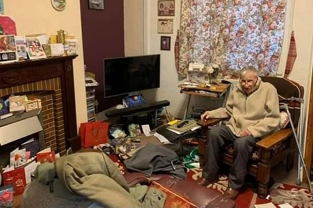 Retired miner Ted Green, 94, whose home was ransacked by burglars four days before Christmas, has been left overwhelmed after strangers raised more than £20,000 for him