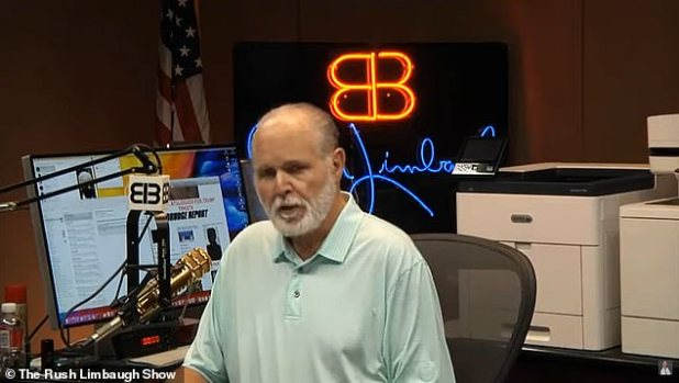 The conservative radio icon announced in October that cancer is terminal