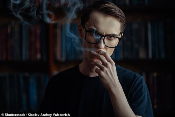 Even those people who smoke only once a day - and are considered mere smokers - may be addicted to nicotine and need treatment, the study said.