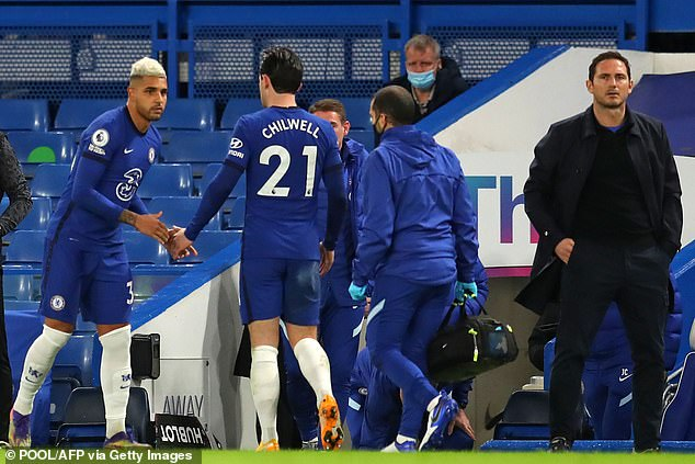 Ben Chilwell's physical condition will be assessed after he leaves early in 3-0 win over West Ham