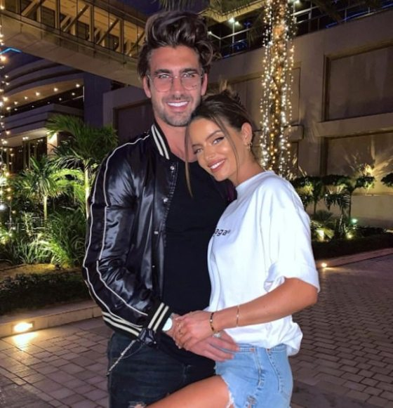 'All I want for Christmas is you': Maura Higgins leaked over her new beauty Chris Taylor as she shared a disappointed couple on her Instagram on Christmas Eve