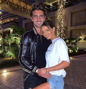 Maura Higgins overwhelmed Chris Taylor as he shared a stunning Dubai