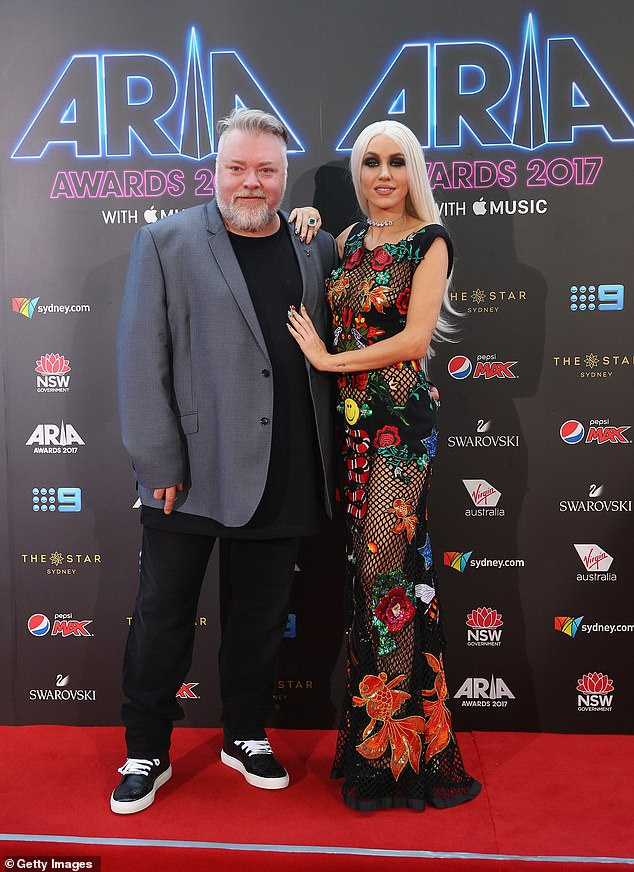 Over:Imogen's most high-profile romance was with radio shock jock Kyle Sandilands, 49, whose relationship ended back in 2019 after an eight years together