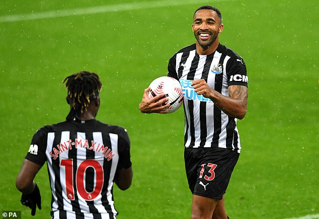 Newcastle look to be on course for another steady season with Callum Wilson leading the line