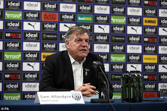 West Brom are relying on Sam Allardyce to guide them to safety after sacking Slaven Bilic