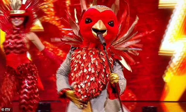 True identity? The Masked Singer UK returned to ITV on Saturday and fans are already confident that the first contestant, Robin, is actually JLS star Aston