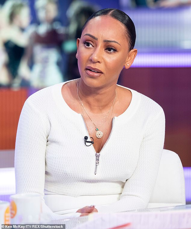 Advice: Mel B has been helping Coronation Street bosses write their domestic abuse storyline this year