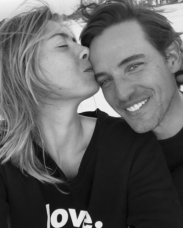 Fairytale ending: Sharapova and her royally tied beau have been dating for two years as she said, 'I said yes from the first day we met,' after announcing their engagement last week; pictured December 17