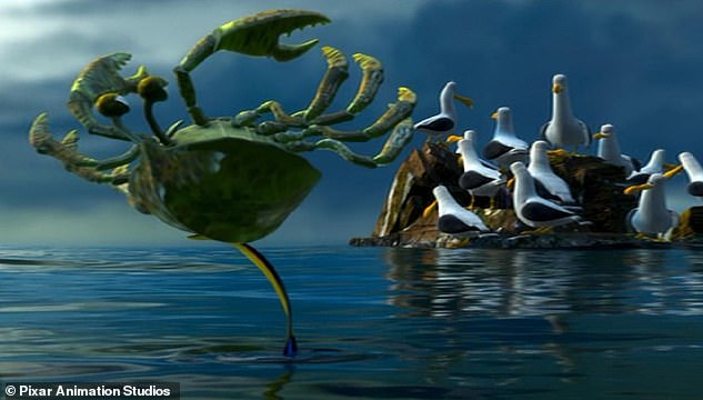 Cameo role: Rove famously voiced a crab in the 2003 animated film Finding Nemo (pictured). He has also voiced Junior Investor in Norm of the North, and Max, Hiro, Coach Coach, Stinky, John, Lionel and Skinny Arthur in Cartoon Network's Exchange Student Zero