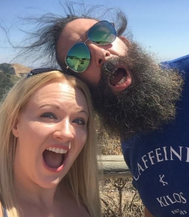 Broken heart: Amanda wrote: 'My best friend died today. I never wanted to write out those words. My heart is broken. The world saw him as the amazing @brodielee (fka Luke Harper) but he was my best friend, my husband, and the greatest father you would ever meet'