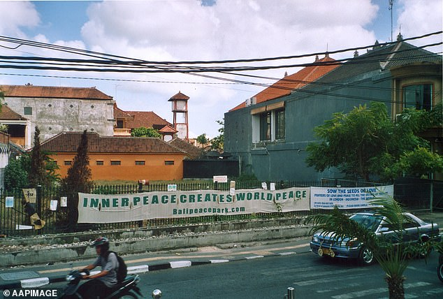The Sari Club (cleared bombing site pictured) and Paddy's Bar in central Kuta were bombed in the 2002 attack and 200 innocent people died, along with two suicide bombers