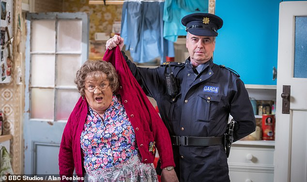 Ex Mrs Brown's Boys star Gary Hollywood is SUING Brendan O'Carroll and the BBC