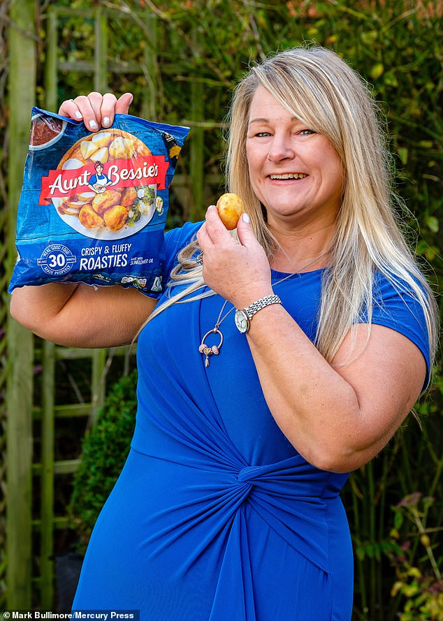Mandy Camish-Bailey, 51, realised she'd hit rock bottom when she snacked on frozen roast potatoes at 3am