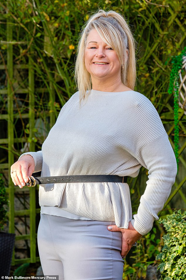 She says Brain Working Recursive Therapy has helped her to shed three stone and drop five dress sizes
