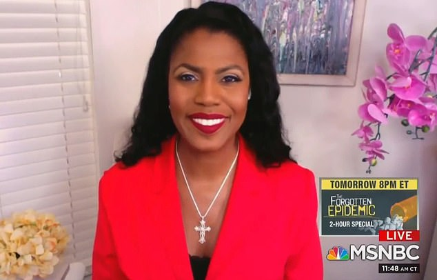 Former White House communications director Omarosa Manigault Newman says President Donald Trump is going through a 'psychotic' episode after losing the presidential election