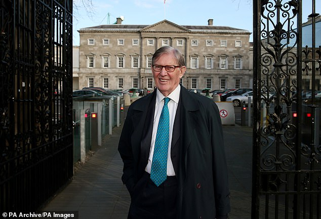 The ERG has convened a self-styled 'star chamber' legal team, with veteran Eurosceptic Sir Bill Cash (pictured) as chairman, to go through the 1,200-page document line by line