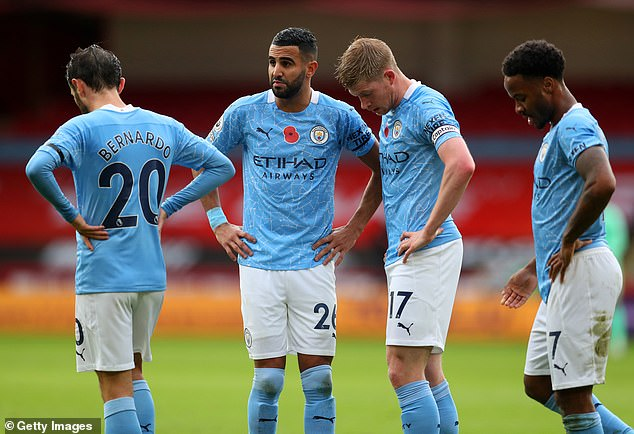 Foden found it difficult to get into City three's attacking midfielder despite performing well