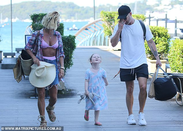 Romance: Pip and Michael confirmed their long-rumoured relationship in July, when they embarked on a PDA-filled trip to Noosa, Queensland