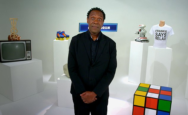 Lenny Henry's gallop through the early days of Channel Four in Back To The 80s (C4) was like a cascade of shiny goodies, brought in on a tidal wave (pictured)