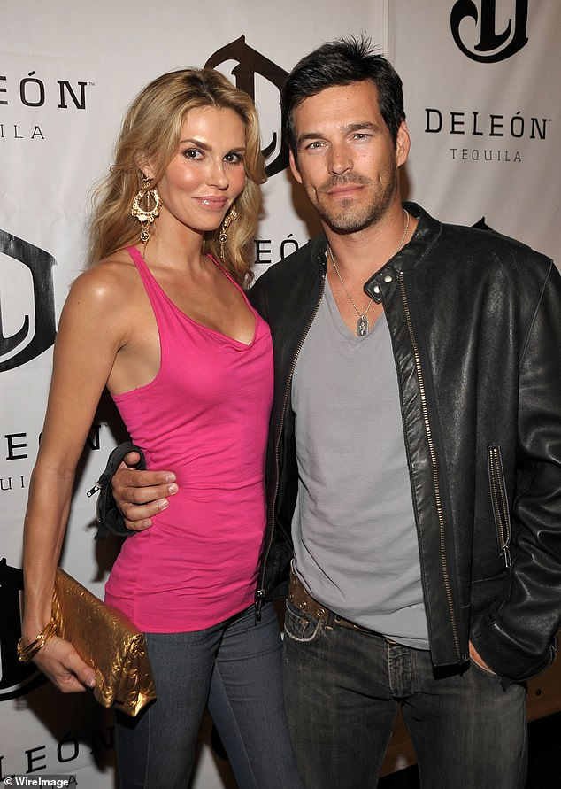 Big drama:Eddie and LeAnn did not go public with their relationship until 2009, with Cibrian filing for divorce from Glanville shortly after; Brandi and Eddie pictured in 2009