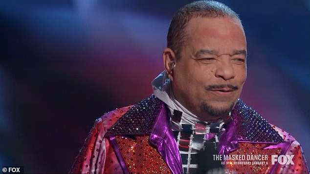 Craziest thing:'Absolutely the craziest thing I've ever done. But my daughter watched The Masked Singer,' said Ice-T referencing his five-year-old daughter Chanel with wife Coco Austin, 41