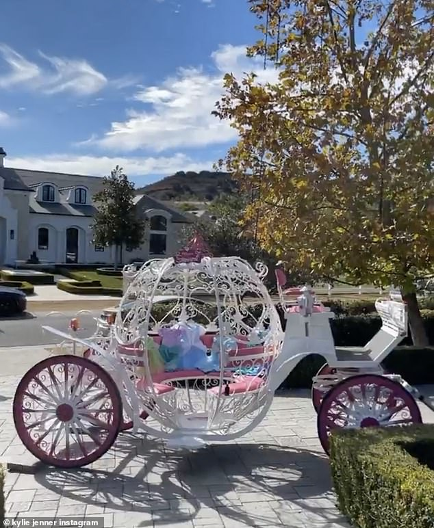 Splurging: Lack of a Christmas Eve bash did not stop the Kardashian-Jenner clan from splurging on extravagant gifts this holiday season, especially for the little ones in their lives