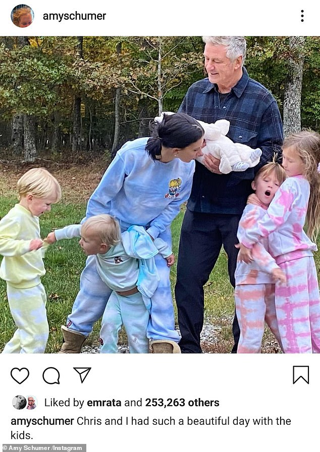 At it again!But on Christmas Day, the Trainwreck actress reassumed her faux Hilaria identity and uploaded a family photo featuring the dedicated yoga instructor, Alec, and their brood