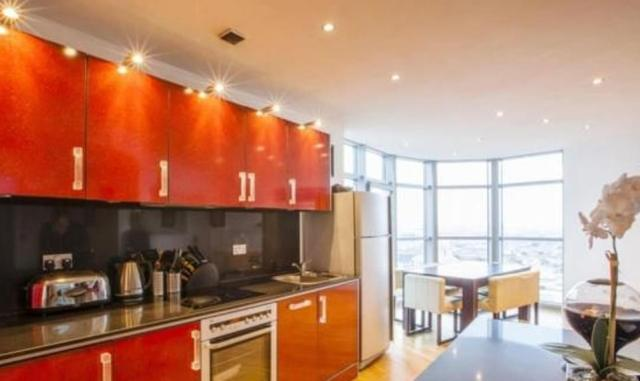 12) A three-bedroom duplex on sale for £750,000 in the 23-floor Altolusso building in Cardiff has been on the market since February 25, 2016. It is the highest residential development in Wales and was used during the filming of TV drama Torchwood