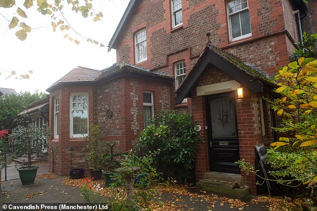 Royal Mail officials now refuse to post letters at his £800,000 home in Wilmslow, Cheshire (pictured)