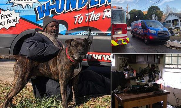 Atlanta homeless man rescues dogs and cats from burning animal shelter