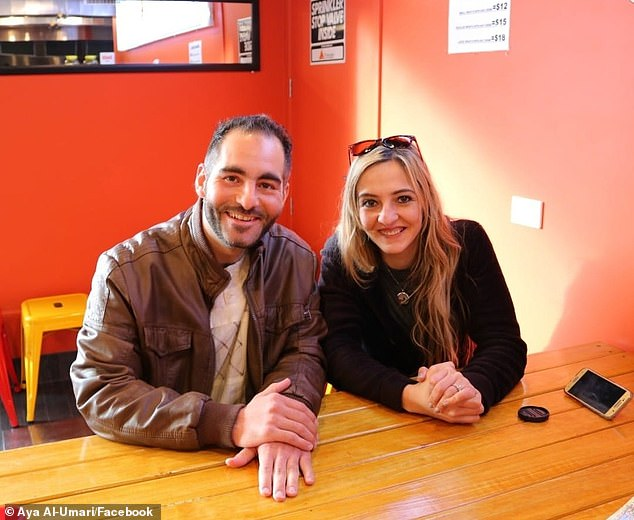Aya Al-Umari, the sister of Christchurch massacre victim Hussain Al-Umari (pictured together) has shared videos of her and her mother being racially attacked by a woman atat Rangiora Farmers on Monday