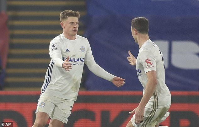 Harvey Barnes scored a fine solo goal to earn Leicester a point in a 1-1 draw vs Crystal Palace