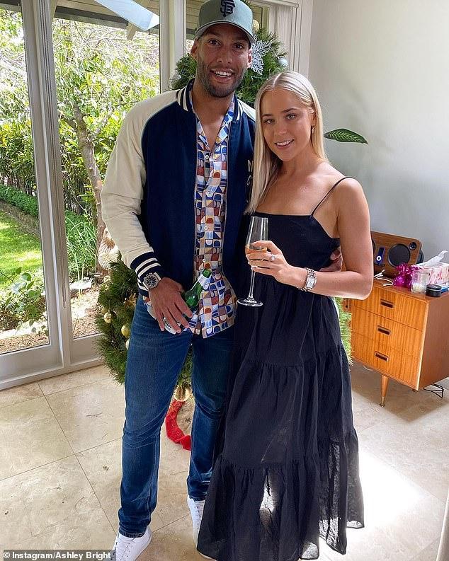 Josh Gibson debuts his glamorous new girlfriend over the Christmas holidays