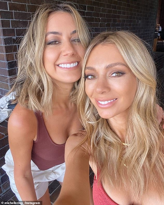 Moving on: The 35-year-old and her lookalike sister Michelle Coppolino, who co-founded and run the fashion site together, shared the shock news online last week