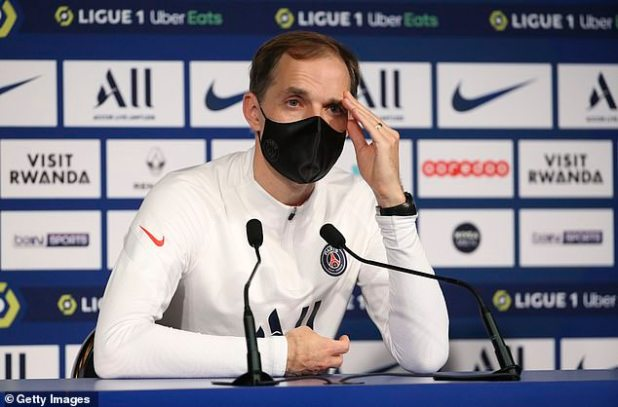 Tuchel was fired just four months after leading PSG to last season's Champions League final
