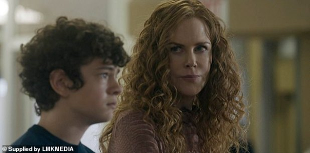 Leading role: Star's salary was revealed in a minor contract filed in court, with Noah receiving the same perks as he did with The Undergoing (with Nicole Kidman above as Henry Fraser)