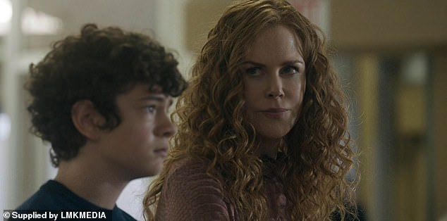 Leading role:The star's salary was revealed in the minor's contract filed at the court, with Noah receiving the same perks as he did with The Undoing (above as Henry Fraser with Nicole Kidman)