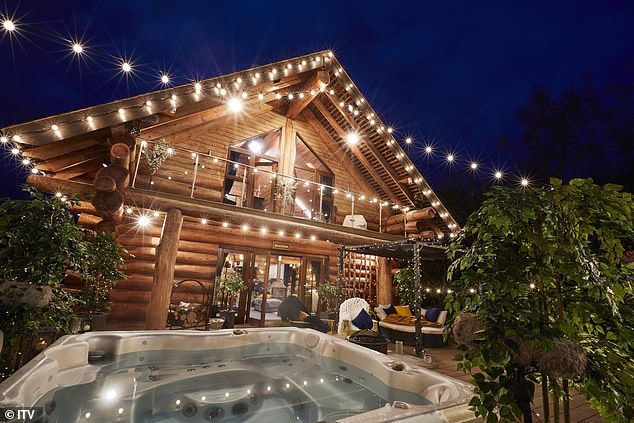 FIRST LOOK:ITV2's The Cabins hits screens in January, with sexy singletons preparing to move into cosy log cabins boasting private hot tubs and romantic fire pits