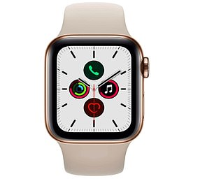 The Apple Watch Series 5 in gold with 44mm display is now reduced by 32 per cent on Amazon