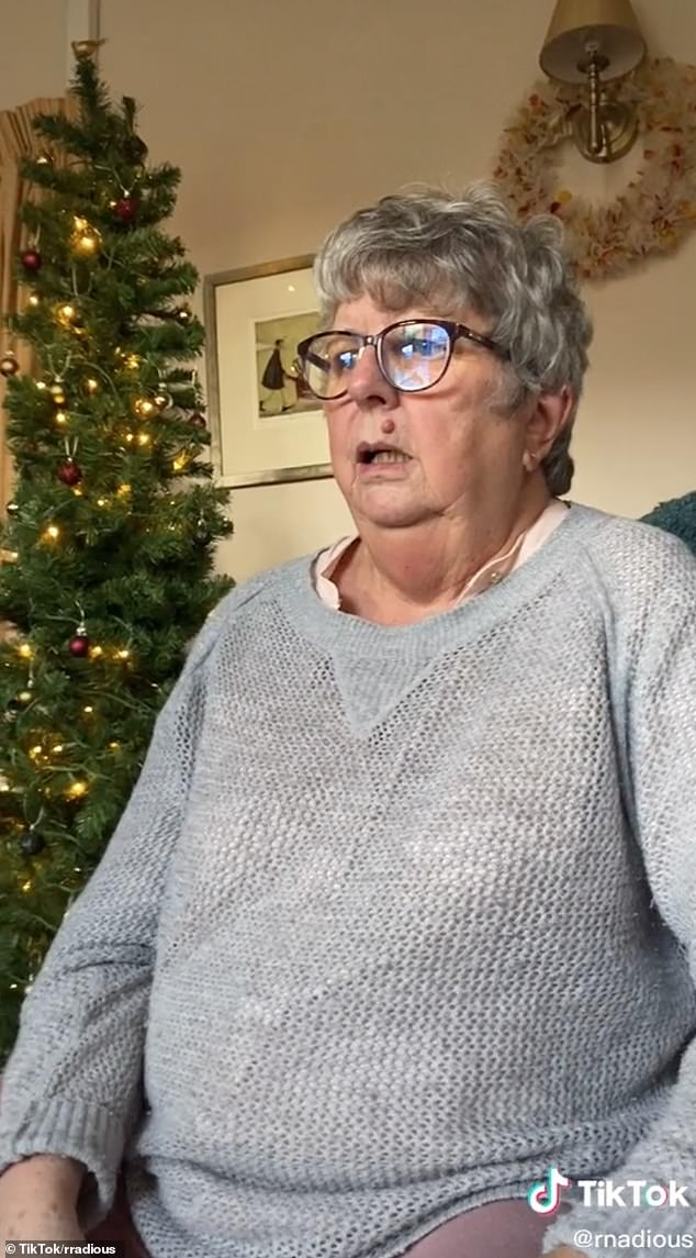 Thegrandmother was left horrified after her granddaughter gifted her mother a very risqué looking present on Christmas morning