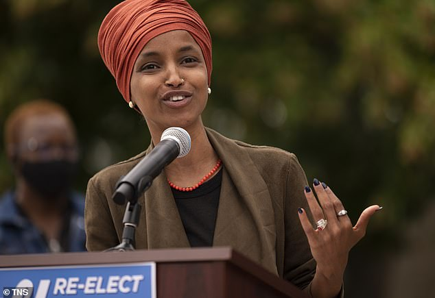 Rep. Ilhan Omar called out her colleagues on Twitter for accepting a vaccine dose, calling it 'shameful' for politicians to be given priority over frontline workers and the elderly
