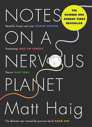 The novel (pictured) deals with how technological advances and social media can exacerbate underlying mental health issues