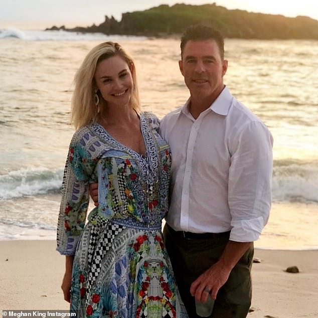 Over: The former couple dated for years before being married in 2014, with Jim filing for divorce in November 2019