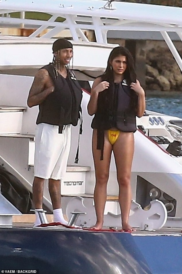 Tyga may be back together with Kylie Jenner-lookalike girlfriend Amanda Trivizas