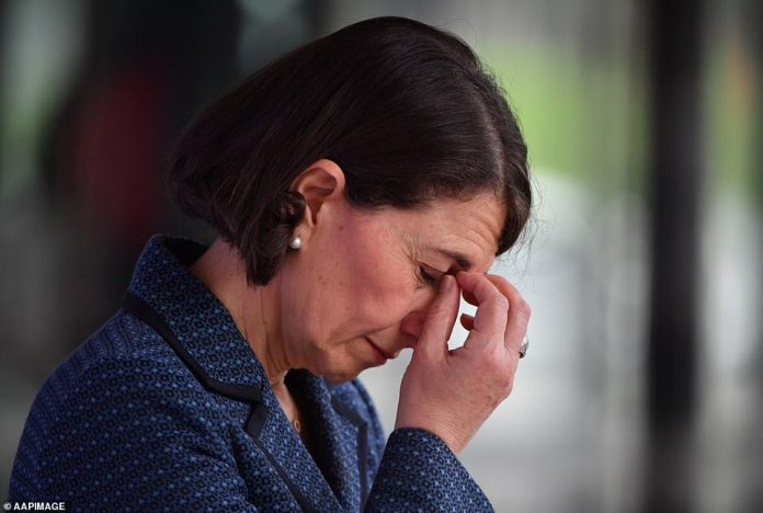 Due to the concerning increase in mystery cases, Premier Berejiklian (pictured on Wednesday) has limited the number of household visitors allowed in Greater Sydney to five, down from 10