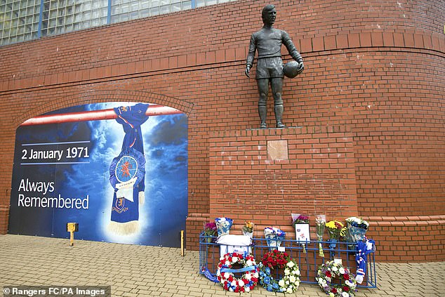 A small memorial will be held prior to Rangers welcoming rivals Celtic to Ibrox for the clash