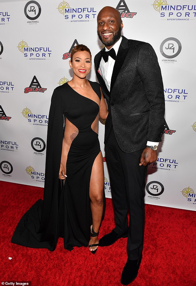 Oh oh: It seemed like a trite post from any other celebrity, but in the caption there were claims that his 33-year-old fitness trainer partner had not given him his password and documents, as they claimed. are.  seen together earlier this month in Atlanta
