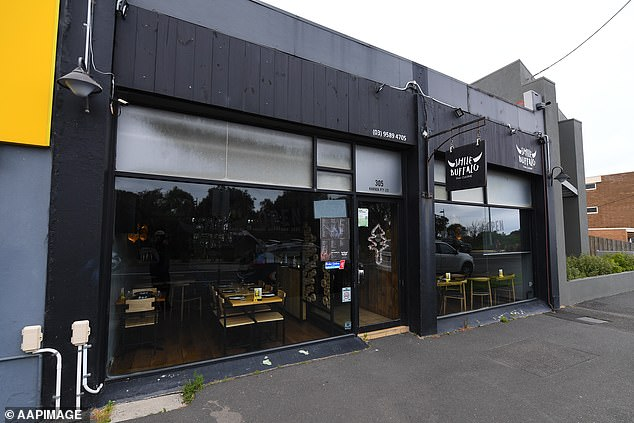 Pictured: Smile Buffalo Thai restaurant in Blackrock, Melbourne.  Victoria's first three locally acquired Covid cases are location-related