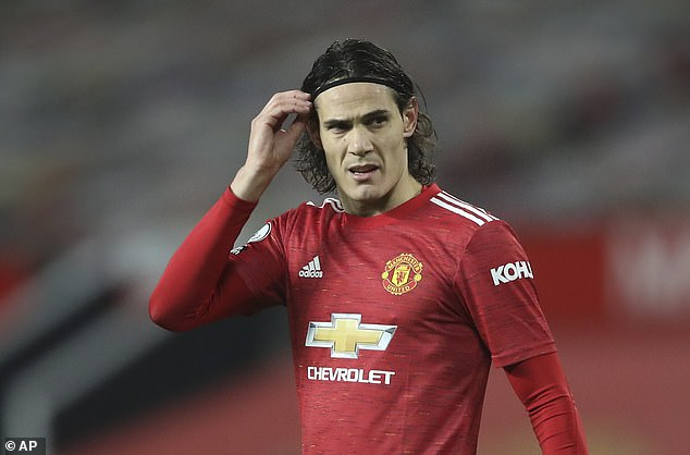 Manchester United striker Edinson Cavani has been suspended for three matches by the FA