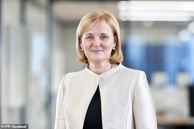 Hero: As the first woman to lead Aviva, Amanda Blanc has wasted little time in getting her strategy for the firm off the ground